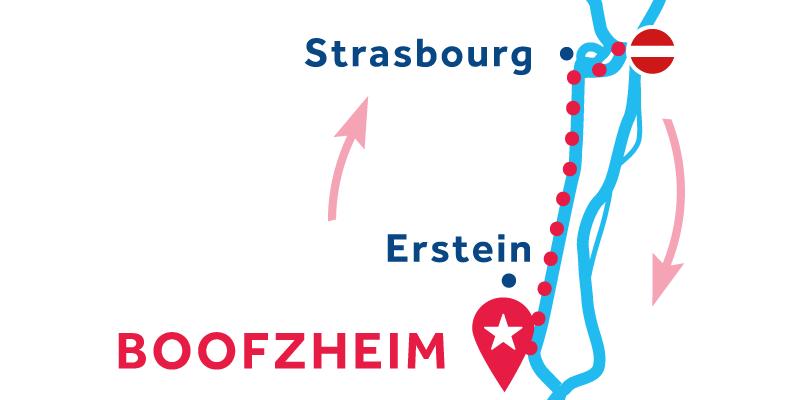 Boofzheim IDA Y VUELTA vía Strasbourg