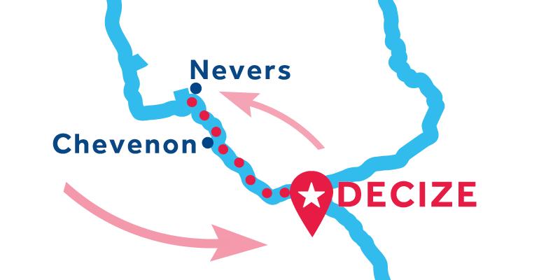 Decize IDA Y VUELTA vía Nevers