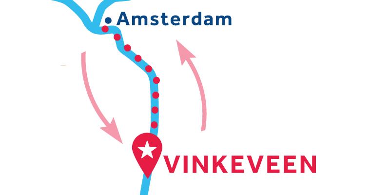 Vinkeveen IDA Y VUELTA vía Ámsterdam e Muiden