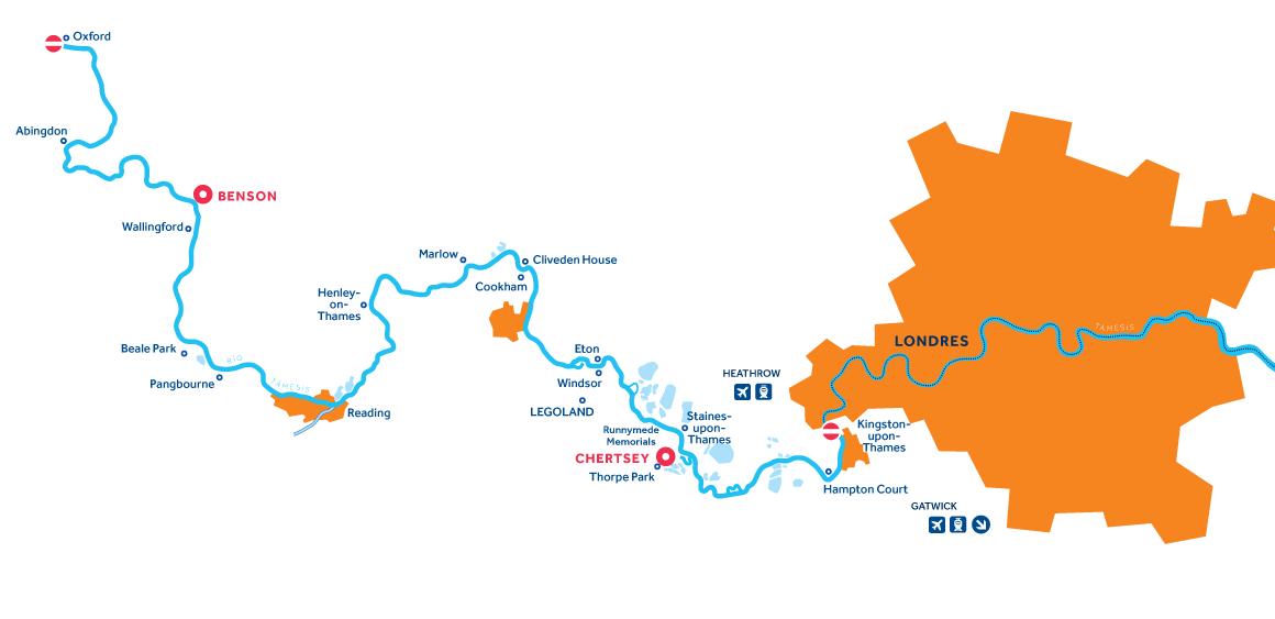 Mapa: Támesis