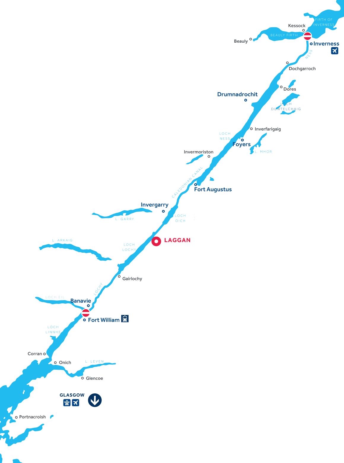 Mapa: Canal de Caledonia