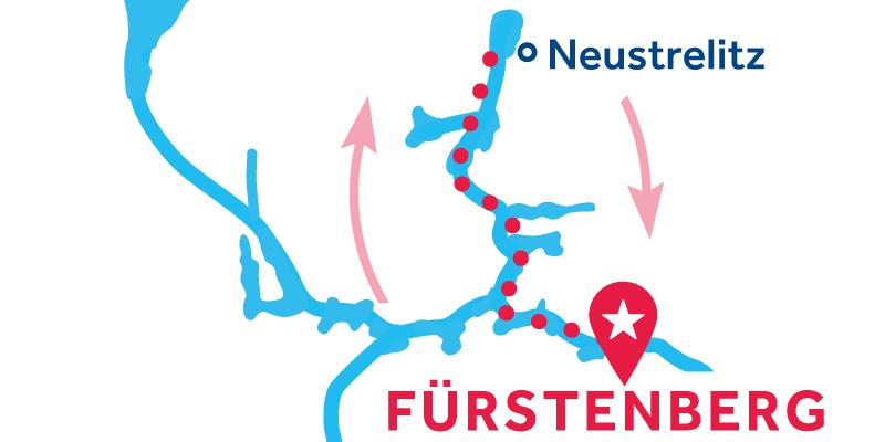 Fürstenberg IDA Y VUELTA vía Neustrelitz