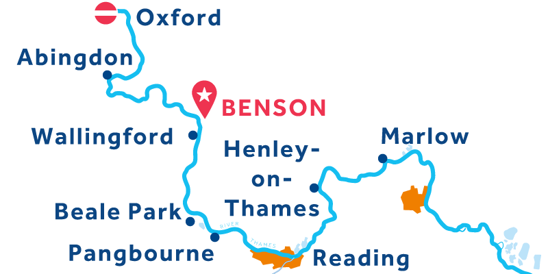 Benson IDA Y VUELTA vía Oxford & Henley