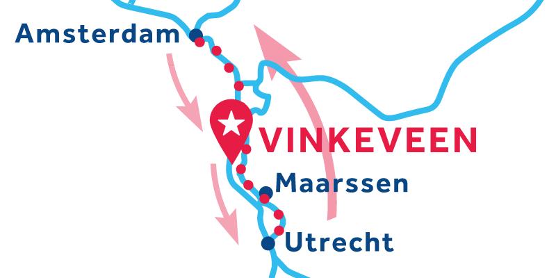 Vinkeveen IDA Y VUELTA vía Ámsterdam & Utrecht