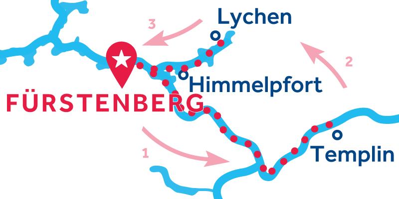 Fürstenberg IDA Y VUELTA vía Templin