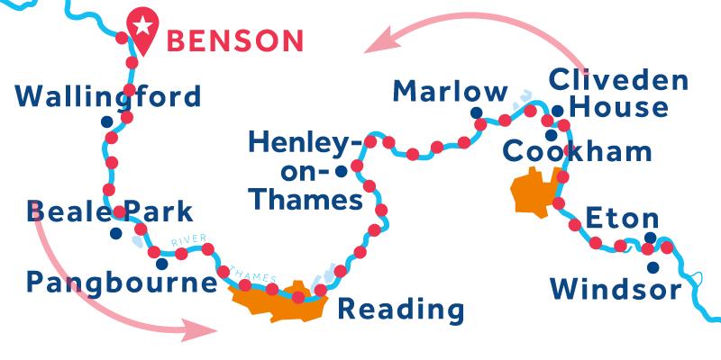 Benson IDA Y VUELTA vía Windsor