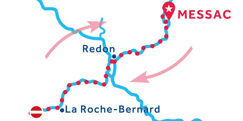 Messac IDA Y VUELTA vía La Roche-Bernard