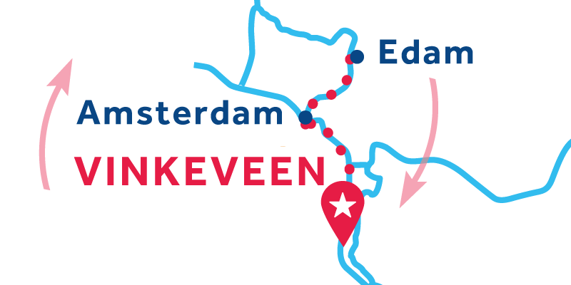 Vinkeveen IDA Y VUELTA vía Ámsterdam, Edam & Alkmaar