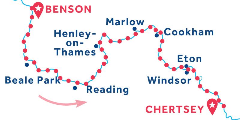 De Benson a Chertsey
