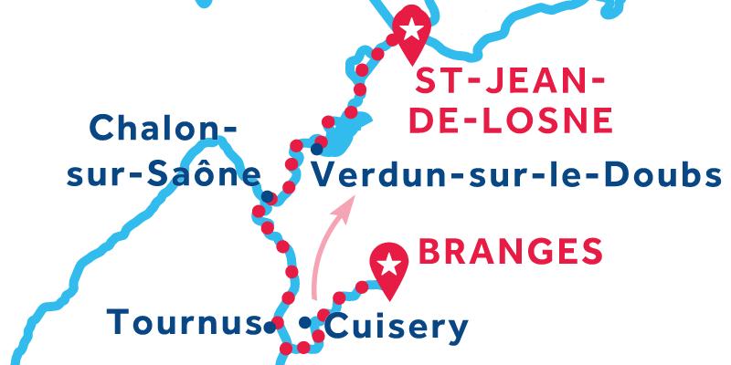 De Branges a Saint-Jean-de-Losne
