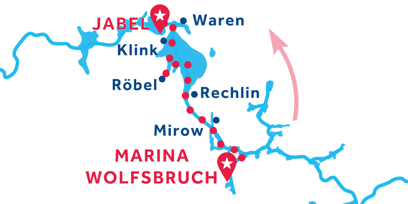 De Marina Wolfsbruch a Jabel
