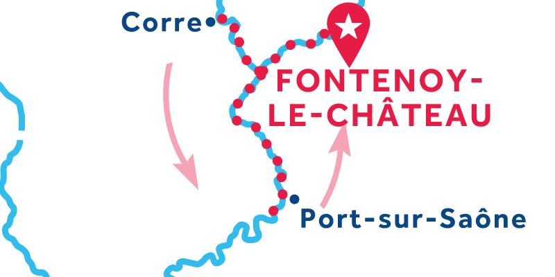 Fontenoy-le-Château IDA Y VUELTA vía Ormoy