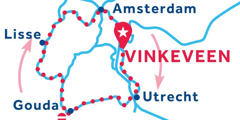 Vinkeveen IDA Y VUELTA vía Utrecht, Lisse & Ámsterdam