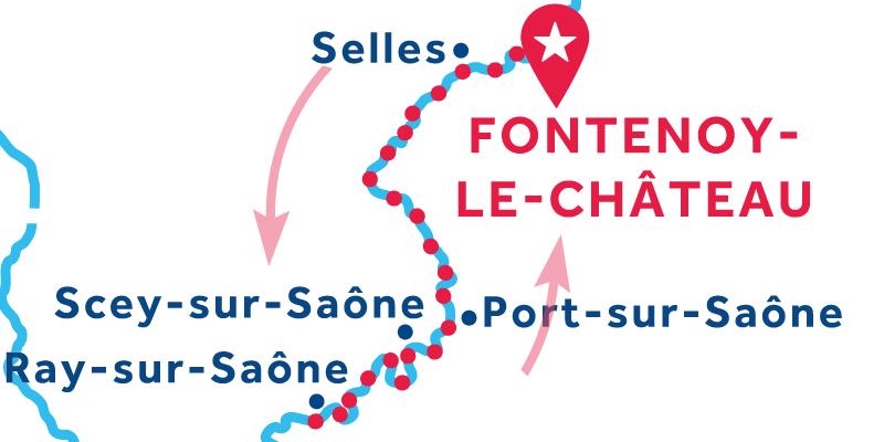 Fontenoy-le-Château IDA Y VUELTA vía Ray-sur-Saône
