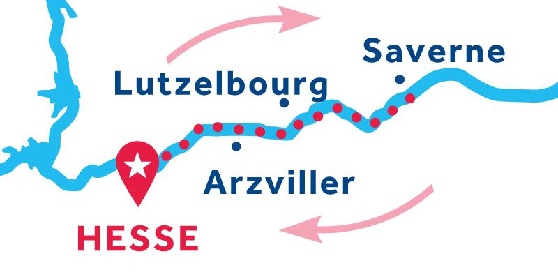 Hesse IDA Y VUELTA vía Saverne