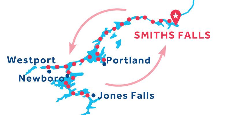 Smiths Falls IDA Y VUELTA vía Jones Falls