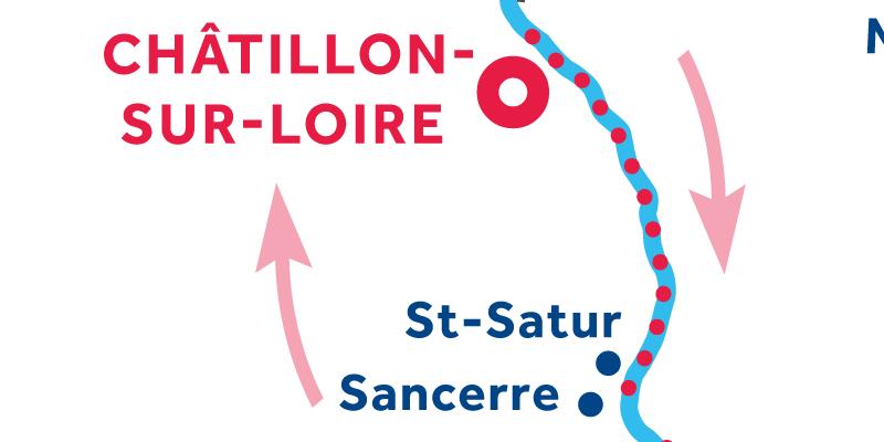 Châtillon-sur-Loire IDA Y VUELTA vía Sancerre