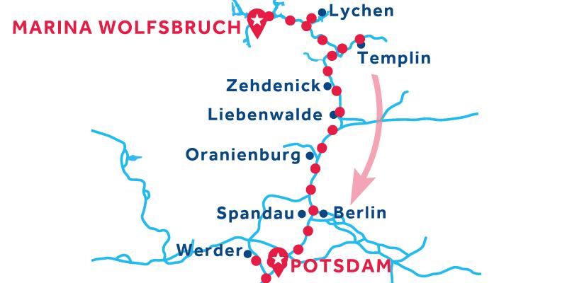 De Marina Wolfsbruch a Potsdam (Licencia obligatoria)