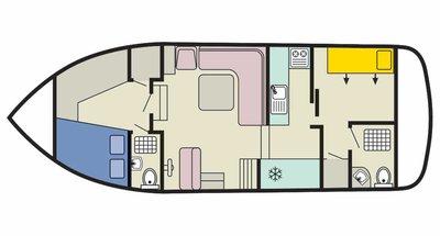 Plan del Corvette B
