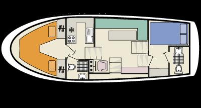 Curlew WHS - plan de la cubierta