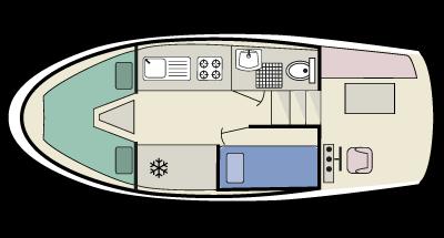 Kingfisher WHS - plan de la cubierta