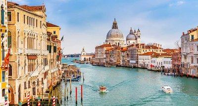 El Gran Canal, Venecia, Italia