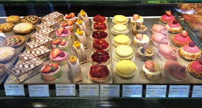 Pastelería típica francesa