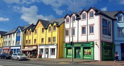 Casas coloridas en Carrick-on-Shannon
