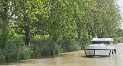 Crucero en el Canal du Midi
