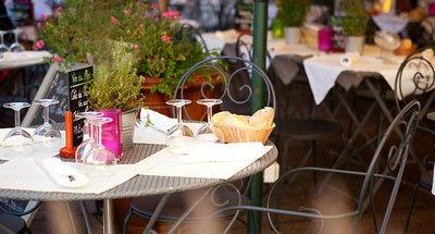 Cafe tradicional en Francia