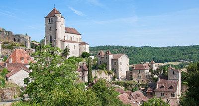 Saint-Cirq Lapopie, uno de los pueblos más bonitos en Francia