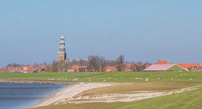 Campos y lagos en Holanda
