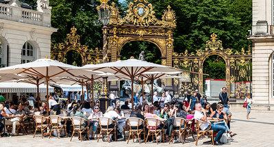 Plaza Stanislas en Nancy