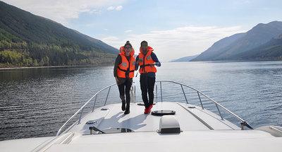 Navegación en el Canal de Caledonia