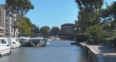 El Vision en el Canal du Midi