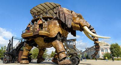 Las máquinas de la isla en Nantes