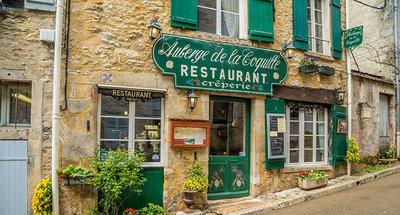 Restaurant típico en Vézelay