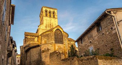 Iglesia Magadelena en Tournus