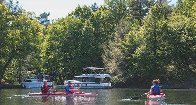 Kayak en Chaffey's