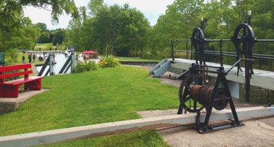 Esclusa en el Canal Rideau