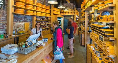 Tienda de queso en Edam