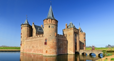 Castillo Medieval en Muiden