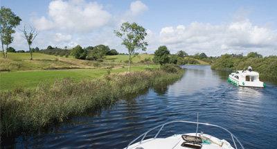 Río Shannon cerca de Carrick
