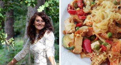wok vegano de tofu con crema de cacahuete del blog Petites Choses de Fanny
