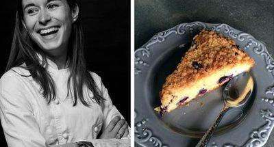 pastel de café del blog Marion a découvert