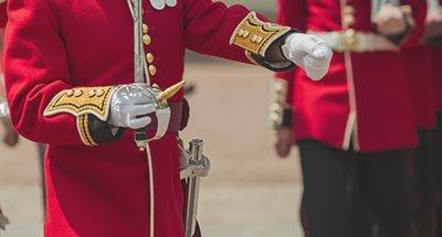 Soldado de la guardia británica