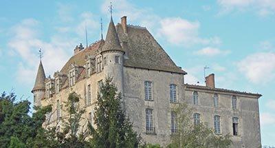 Castillo de Hamel en Aquitania