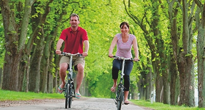 Paseo en bicicleta en Alemania