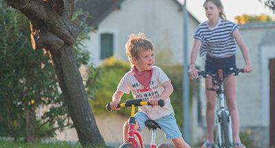 Paseo en bicicleta en el Loire Nivernais