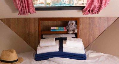 Cabinas y cuartos de baño del Mountain Star